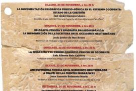 Arrancan este lunes las XXXII Jornadas de Arqueología Fenicio-Púnicas en Puig des Molins
