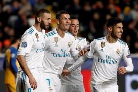El Real Madrid se quita las penas a base de goles