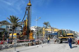 Comienzan a construir el nuevo tanque de tormentas del puerto de Vila
