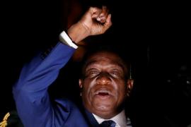 """El próximo presidente de Zimbabue proclama el inicio de """"una nueva democracia"""""""