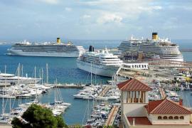 Los cruceros tachan de ilegal la ecotasa y avisan de que Balears puede caer de las rutas