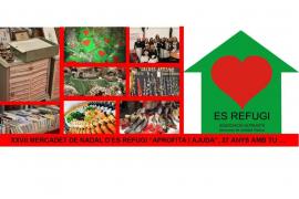 Es Refugi celebrará en la Misericòrdia su mercadillo de Navidad 2017