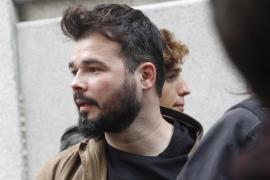 Gabriel Rufián califica a la Unión Europea de «miserable»