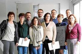 El área de salud pitiusa dona once ordenadores a los colegios de Formentera