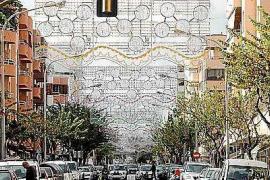La Navidad va tomando forma en la ciudad de Ibiza