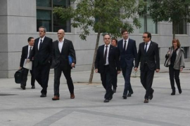 El Supremo cita este viernes a los 'exconsellers' y a los 'Jordis'