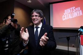 """Puigdemont: """"Estamos aquí para defender las instituciones de las que somos representantes legítimos"""""""