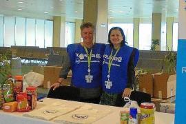 El aeropuerto de Ibiza colabora con el Banco de Alimentos de Ibiza en la 'gran recogida'