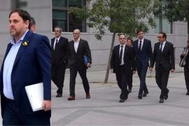 El exGovern y los 'Jordis' piden ser excarcelados prometiendo respetar la Constitución y el 155