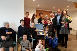 Catalina Torres, vecina de Puig d'en Valls, cumple 100 años