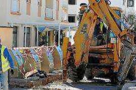 El Consell de Formentera habilita un aparcamiento en Sant Ferran con motivo de las obras en varias calles