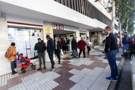 Mayor afluencia de gente en las oficinas del SOIB de Ibiza