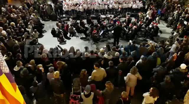 Santa Eulària enciende el alumbrado de Navidad