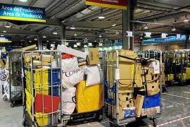El 'boom' del comercio on-line dispara los envíos de paquetería en Balears en 2017