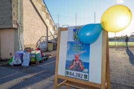 El Inter Ibiza organiza una campaña de recogida de ropa, juguetes y comida