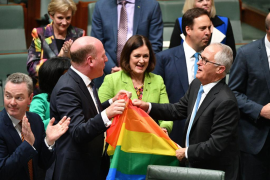 El Parlamento australiano aprueba el matrimonio homosexual