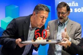 """Rajoy pide votar al PP para """"recuperar la convivencia"""" en Cataluña"""