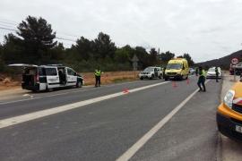 Herido un joven motorista arrollado por un conductor que cuadruplicaba la tasa de alcohol
