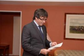 Puigdemont niega que exista una tercera vía y alerta que «el Estado no quiere ser reformado»