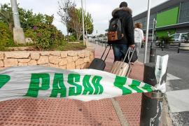 Salta la alarma en el aparcamiento del aeropuerto de Ibiza por un coche robado