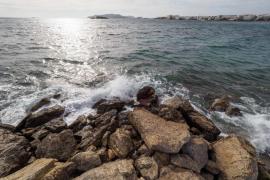 La borrasca 'Ana' amenaza a las Pitiusas con vientos de hasta 100 kilómetros/hora