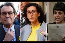 La agenda del 'procés' revela el rol de Mas, Rovira, Gabriel y el juez Viver en el comité estratégico
