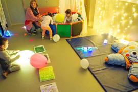 El CEIP Portal Nou estrena aula multisensorial para alumnos con necesidades especiales