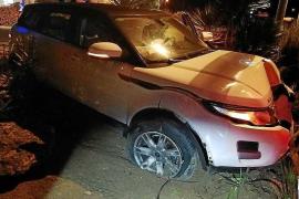 Dos conductores dan positivo en alcohol o drogas en sendos accidentes en Sant Antoni