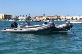 Ocho barcas del Ibanat controlarán el estado de la posidonia de las Pitiusas durante los dos próximos veranos