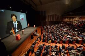 "Puigdemont vaticina que ""el soberanismo seguirá aunque expolien patrimonios familiares"""