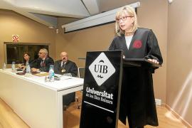 Olga Cardona ingresa en la Real Academia de la Jurisprudencia balear