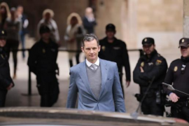 """Horrach cree que hay una """"probabilidad muy alta"""" de que Urdangarín entre en prisión en 2018"""