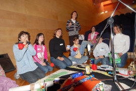 'Pintant cinema' en la Fundació Miró