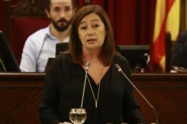Francina Armengol manifiesta su intención de que MÉS mantenga la vicepresidencia