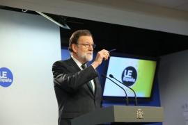 Rajoy dice que no tiene sentido hablar de indultos cuando ni se ha abierto juicio oral al exGovern de Puigdemont