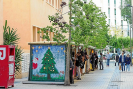 Malestar entre los artesanos del mercadillo de Navidad de Vila por el cambio de ubicación