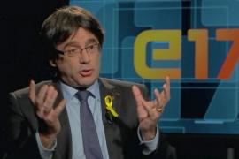 """Puigdemont acusa al Gobierno de querer encarcelar al soberanismo como """"idea criminal"""""""