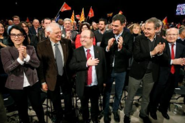 """Sánchez apela a la """"mano izquierda de Iceta"""" para que vuelva la convivencia"""