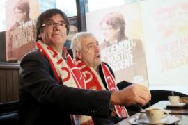 """Puigdemont apela al deporte para conseguir una república """"libre y próspera"""""""