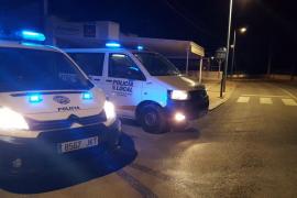 Sorprenden a un conductor ebrio en Ibiza con las luces apagadas para tratar de evitar a los agentes