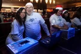 Magna Pityusa y Apneef celebran su fiesta de Navidad en Heart Ibiza (Fotos: Daniel Espinosa).