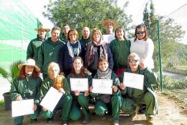 Sant Josep entrega 10 certificados de profesionalidad a los alumnos de Es Romaní
