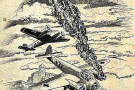 El cómic 'Días oscuros' se presenta mañana en la biblioteca municipal de Santa Eulària