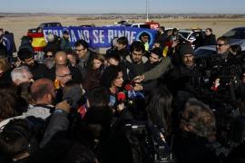 Hogar Social Madrid intenta boicotear el acto de ERC ante la cárcel de Junqueras