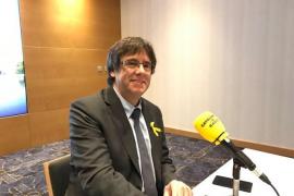 """Puigdemont replica a Junqueras que está en Bruselas porque es """"consecuente"""" y niega estar escondido"""