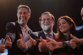 Acto de cierre de campaña de los populares en Barcelona