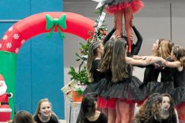 Ejercicios gimnásticos en clave de cuento navideño