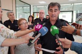 Manuel Hernández, nuevo comisario de la Policía Nacional de Ibiza