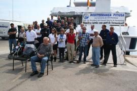 Protesta de Mediterránea Pitiusa contra las acusaciones del Consell de pactar precios