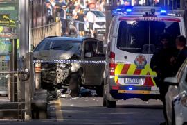 El atropello múltiple de Melbourne deja 19 personas heridas, varias de ellas graves